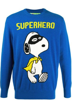 MC2 SAINT BARTH Men Sweatshirts - Snoopy Superhero crewneck jumper