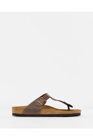 Birkenstock Gizeh Unisex - Casual Shoes (Habana Oiled Leather) Gizeh - Unisex