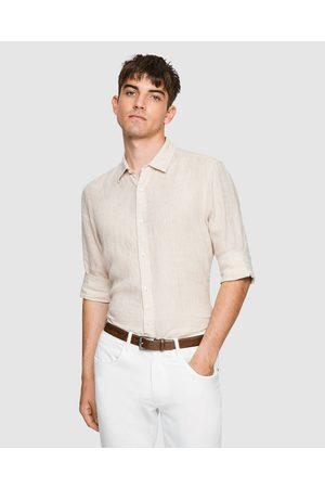Yd. Men Long sleeves - West Hampton Shirt - Shirts & Polos (NATURAL) West Hampton Shirt