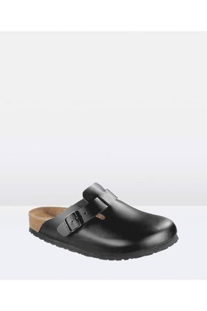 Birkenstock Boston Leather Slip Ons