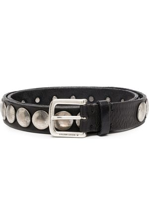 Golden Goose Disc-embellished belt