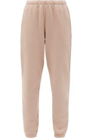 Les Tien Cotton-jersey Loopback Sweatpants - Womens - Light
