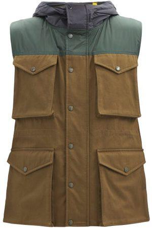 1 MONCLER JW ANDERSON Dunrobin Multi-pocket Cotton-canvas Down Gilet - Mens - Multi