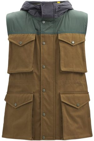 JW ANDERSON Dunrobin Multi-pocket Cotton-canvas Down Gilet - Mens - Multi
