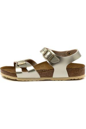 Birkenstock Girls Sandals - Rio Kids Jnr Bk Sandals Girls Shoes Casual Sandals Flat Sandals