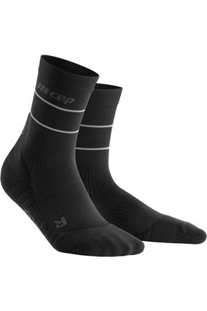 CEP Compression CEP Reflective Mid Cut Running Socks