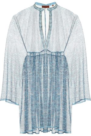 Missoni Women Beachwear - Zig-zag knit kaftan
