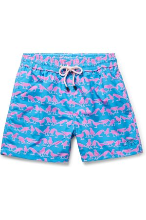 Pink House Mustique Men Board Shorts - Swim trunks
