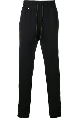 Philipp Plein Men Joggers - Drawstring track pants