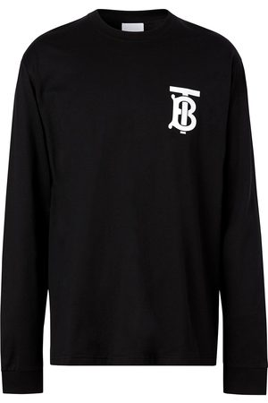 Burberry Men Long Sleeve - Monogram-motif long-sleeve T-shirt