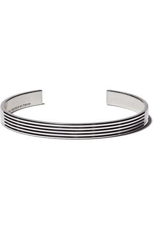 Le Gramme Bracelets - Enamelled cuff bracelet