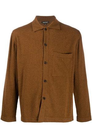 Evan Kinori Men Business - Button up sweat shirt