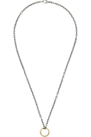 Gucci Necklaces - Snake ring pendant necklace