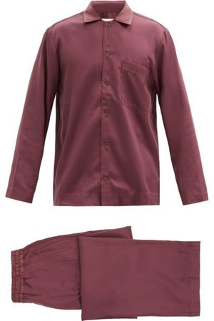 CDLP Satin Pyjama Set - Mens - Burgundy
