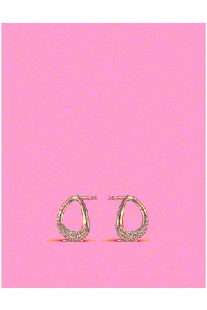 Georg Jensen Offspring sterling-silver and diamond stud earrings
