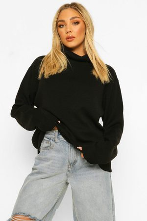 Boohoo Plus Roll Neck Knitted Jumper