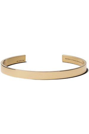 Le Gramme Bracelets - 18kt yellow polished gold 21 Grams Ribbon cuff
