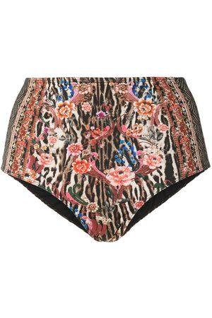 Camilla High-waisted bikini bottoms
