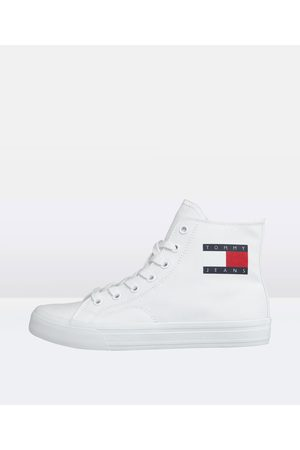 Tommy Hilfiger Women Sneakers - Mid Cut Lace Up Sneakers Vulc