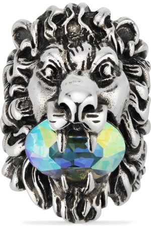 Gucci Rings - Lion head ring with crystal