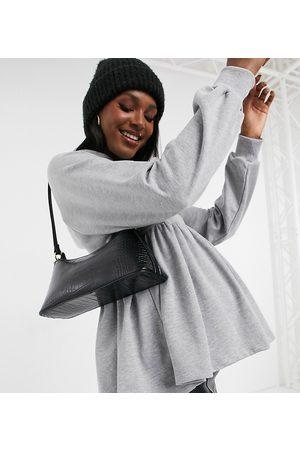 ASOS ASOS DESIGN Maternity ultimate hoodie in grey marle