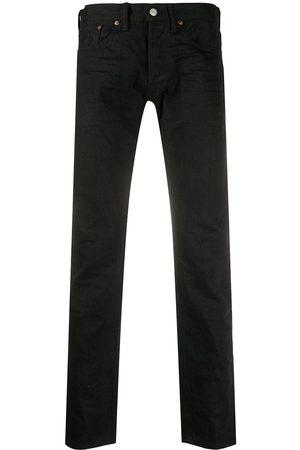 Ralph Lauren Slim-fit mid-rise jeans