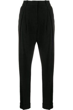 ANN DEMEULEMEESTER High-waisted pleated trousers