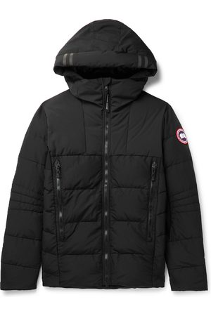 Canada Goose Men Winter Jackets - HyBridge Quilted Nylon Hooded Down Jacket