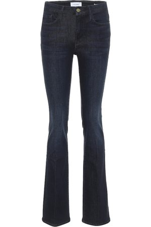 Frame Le Mini Boot high-rise slim jeans