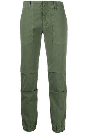 NILI LOTAN Cropped cargo trousers
