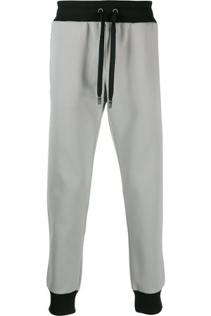 Dolce & Gabbana Men Formal Pants - Tapered cuff jogging trousers