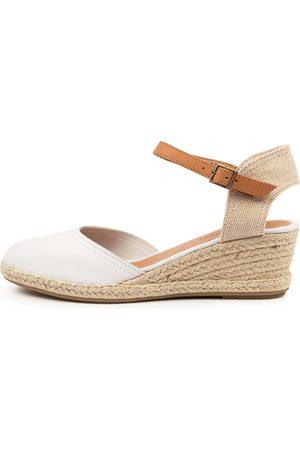Django & Juliette Women Heels - Rain Dj Lt Tan Shoes Womens Shoes Casual Heeled Shoes