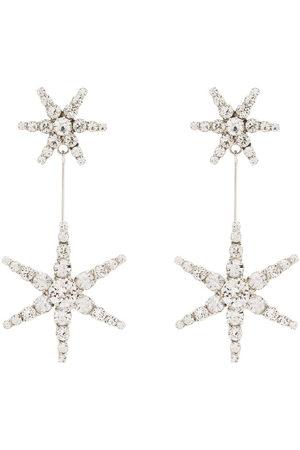Jennifer Behr Women Earrings - Estee crystal star drop earrings