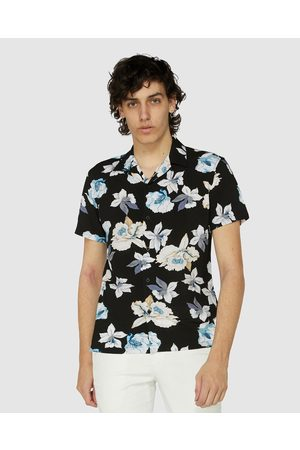 Jack London Harrow Floral SS Shirt - Shirts & Polos Harrow Floral SS Shirt