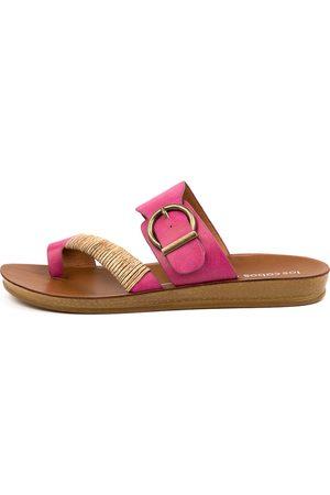 Los Cabos Women Sandals - Bria W Lc Fuchsia Sandals Womens Shoes Casual Sandals Flat Sandals