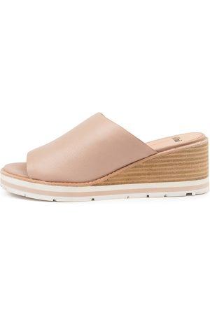 Mollini Women Heeled Sandals - Nissue Mo Nude Sandals Womens Shoes Casual Heeled Sandals