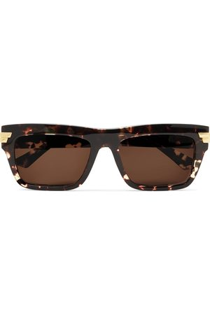 Bottega Veneta Men Sunglasses - Square-Frame Acetate Sunglasses