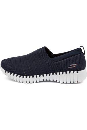 SKECHERS Women Sneakers - 124043 Go Walk Smart Wise Sk Navy Sneakers Womens Shoes Active Active Sneakers