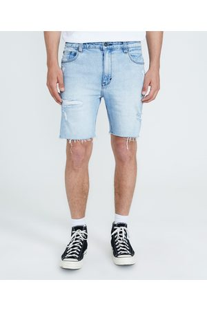 ABrand A Dropped Skinny Denim Shorts Tone Punk
