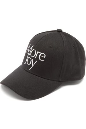 More Joy by Christopher Kane Logo-embroidered Cotton-canvas Baseball Cap - Mens