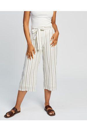 Kaja Clothing Fallon Culottes - Pants ( Stripe) Fallon Culottes