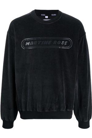 NAPA Men Sweatshirts - Logo print fleece sweatshirt