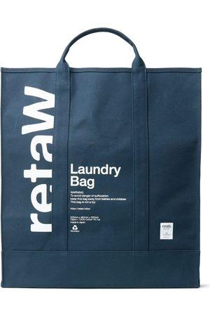 Reta Men Tote Bags - Logo-Print Cotton-Canvas Laundry Bag