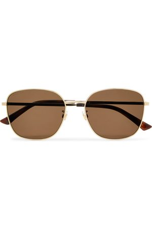Gucci Men Sunglasses - Square-Frame -Tone Sunglasses