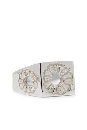 Bleue Burnham Men Rings - Marigold Sterling Signet Ring