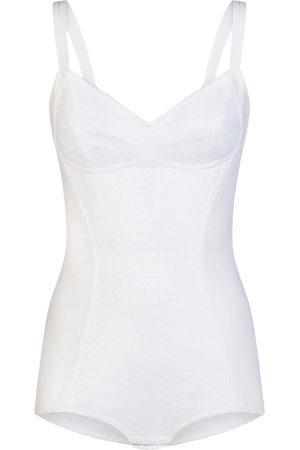 Dolce & Gabbana Women Corsets - Floral lace corset style body
