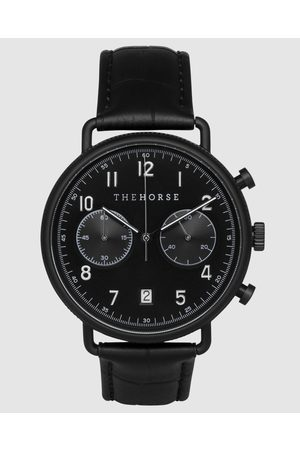 The Horse Men Watches - The Chronograph - Watches (Matte / Dial / Rose Indexing / Croc Leather) The Chronograph
