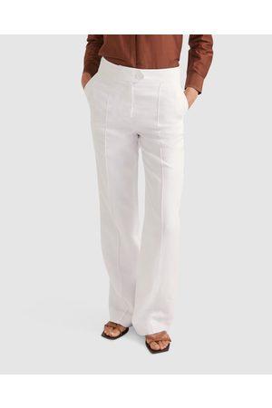 Sportscraft Freya Linen Pants - Pants Freya Linen Pants
