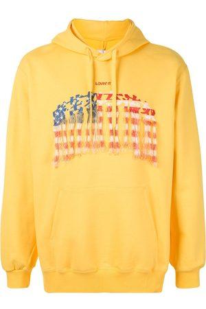 DOUBLET Men Hoodies - Lovin' It cotton hoodie