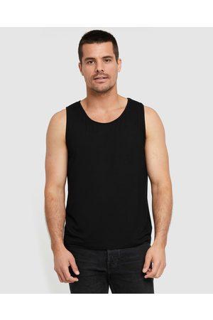 Bamboo Body Men Tank Tops - Bamboo Singlet - T-Shirts & Singlets Bamboo Singlet
